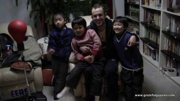 My private students in Beijing.