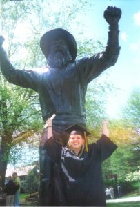 Graduation at ASU.