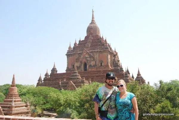 Bagan, Myanmar - part of our gap year travels.