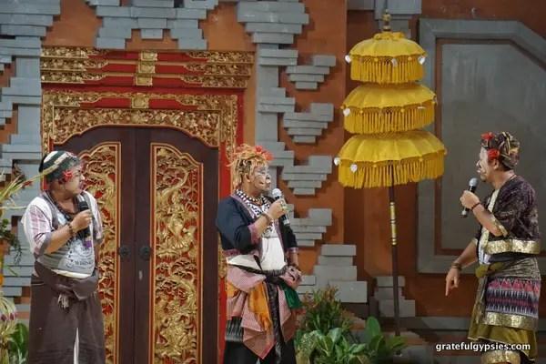 Balinese comedy