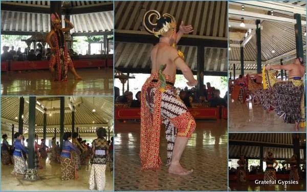 Kraton performances Jogja