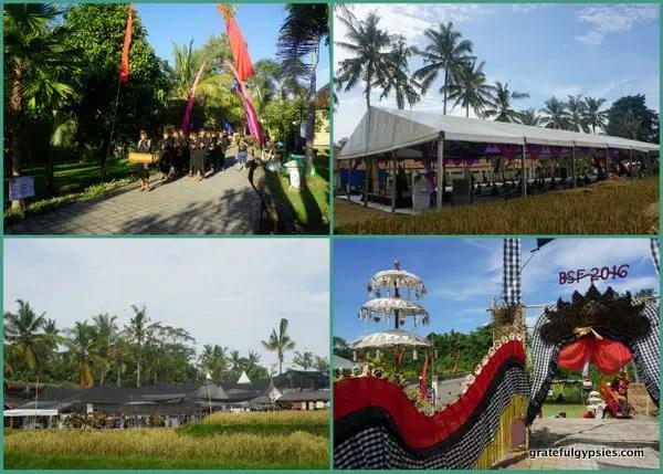 Bhanuswari - the daytime venue.