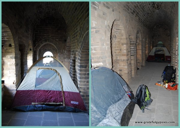 How to Camp on the Great Wall of China