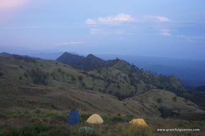 Mt. Rinjani camping