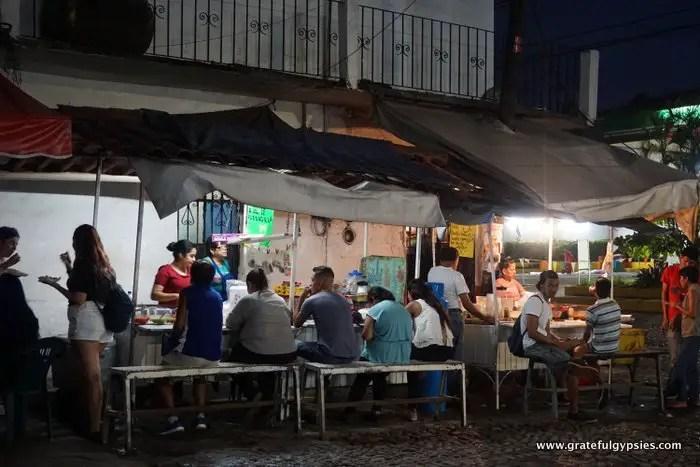 Puerto Vallarta street food