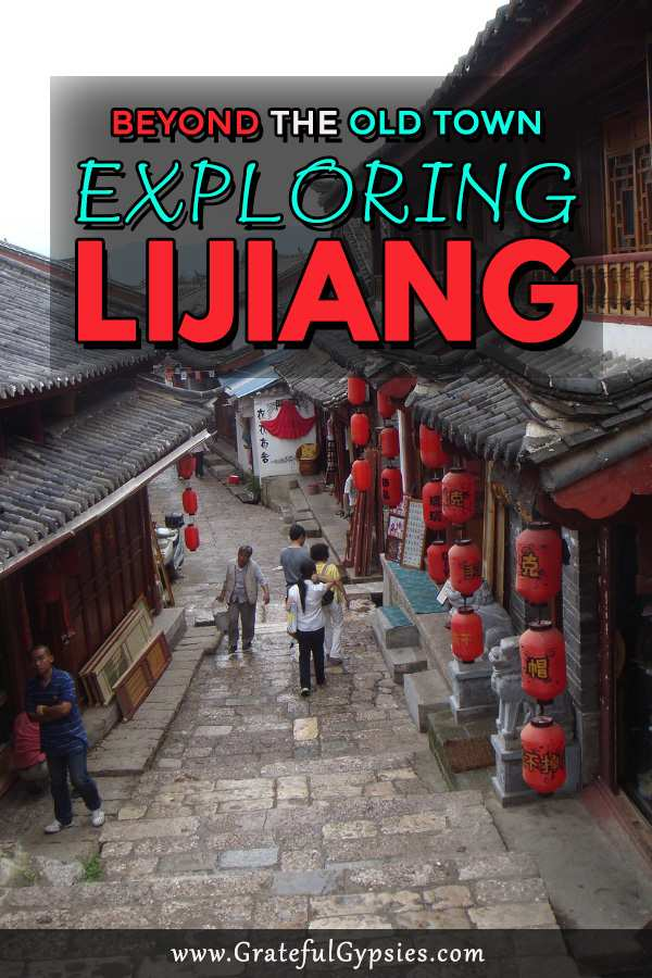 Lijiang is a must visit on the Yunnan backpacking trail. It's a beautiful, historic town surrounded by snow-capped mountains. It's so beautiful that it's great China travel inspiration. If you are going to travel to China, Lijiang definitely needs to be added to your itinerary. Read on to learn about all the things to do in Lijiang. #travelchina #chinatravel #backpackingyunnan #backpackingchina #chinaplacestovisit #chinatravelinspiration