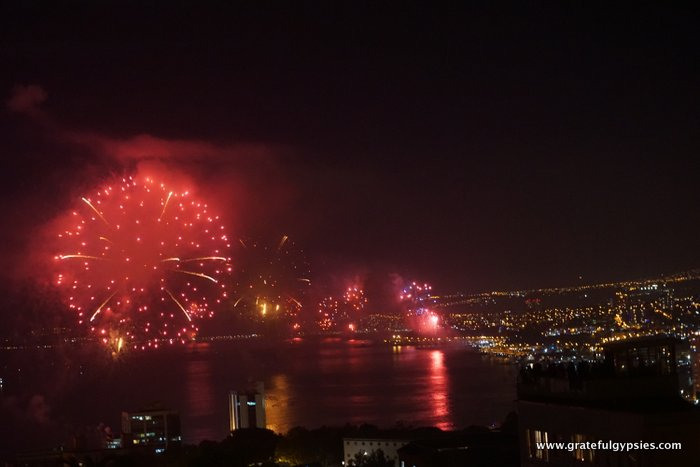 Valparaiso fireworks