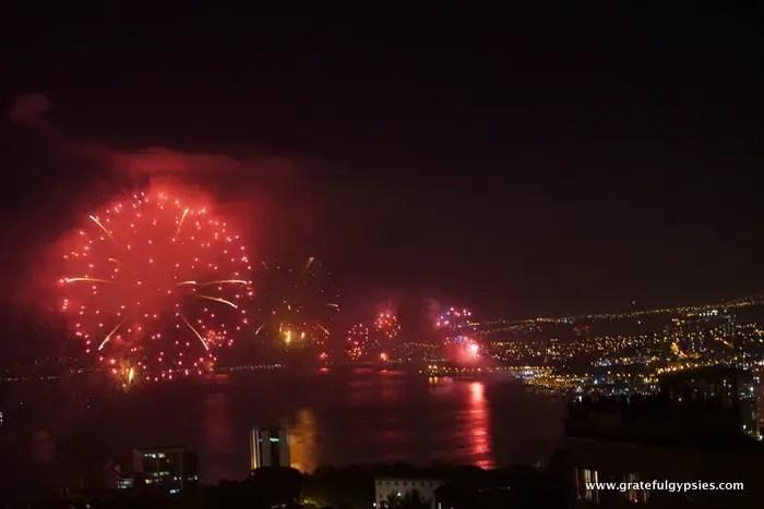 New Year's Eve in Valparaiso