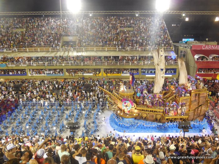 Sambadrome in Rio