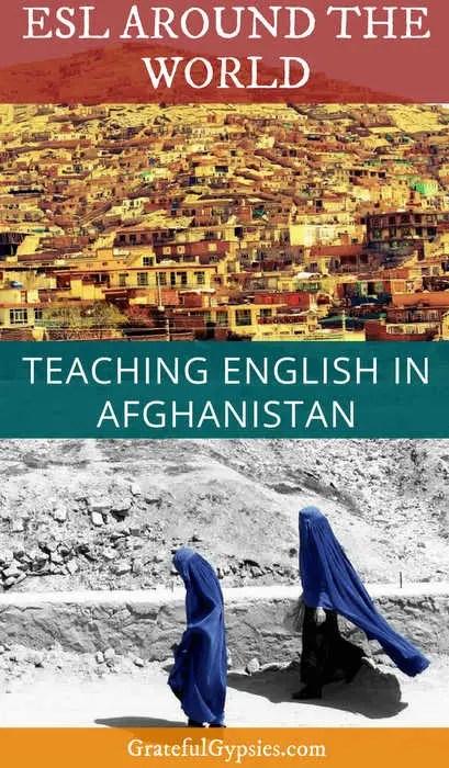 teaching English   Afghanistan   teach abroad
