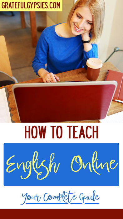 teach English online | digital nomad | how to teach English online