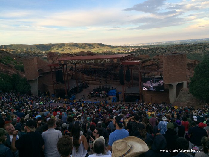 Umphrey's McGee Red Rocks