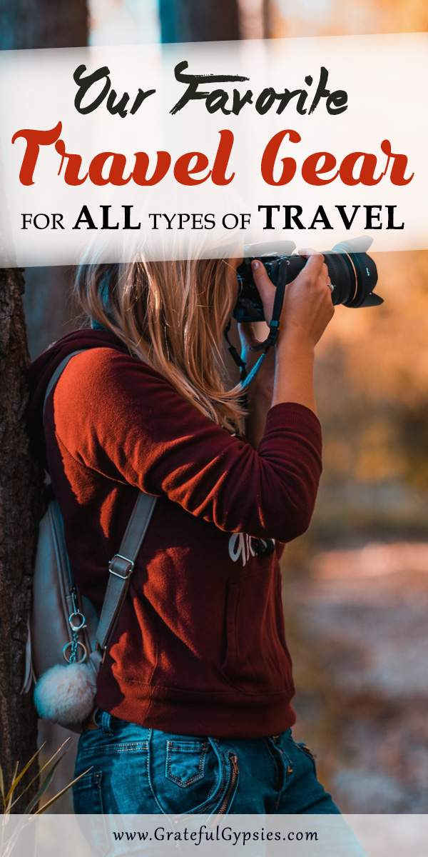There are so many amazing traveling products out there. How do you know what is the best travel gear? We've put our favorite travel gear gadgets, necessities, and accessories into this massive gear guide. #travelstuff #travelgear #backpacks