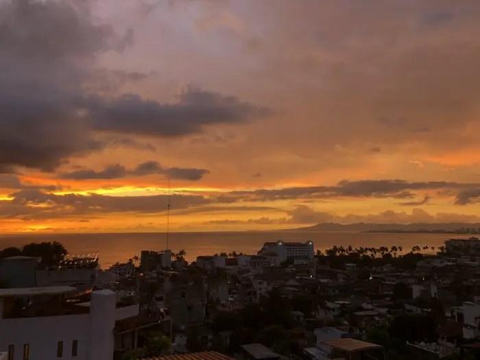 Puerto Vallarta vacation sunset