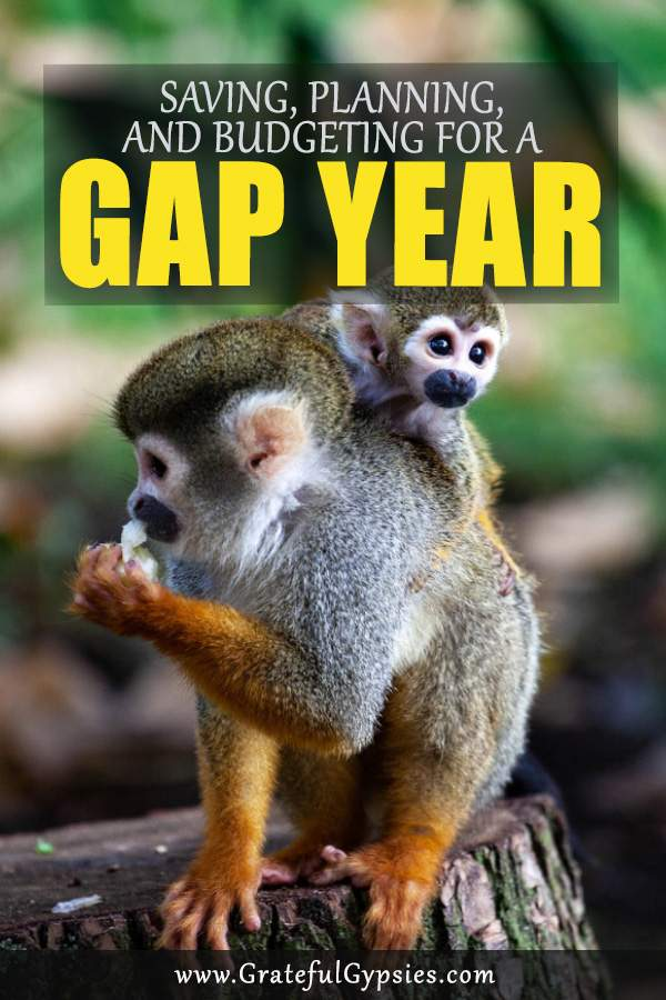 How to save money for a gap year. Learn our strategy for saving money, planning, and budgeting for our gap year travels. #savingtips #moneysavingtips #budgetideas