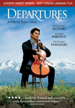 "DVD cover of ""Departures"""