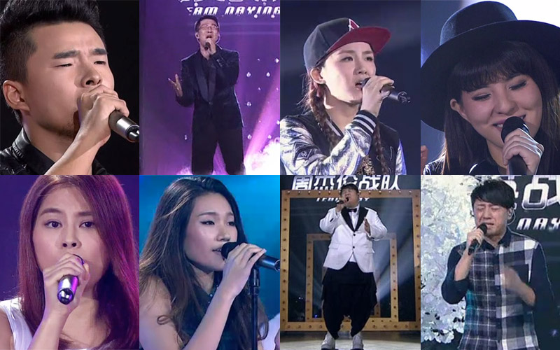 The Voice of China 4 Episode 12: Top 10 contestants face off