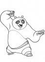 il buffo Po dal film kung fu panda