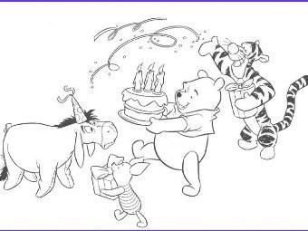 Immagini Da Colorare Di Winnie The Pooh Gratis