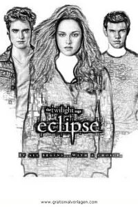 Eclipse Twilight 17 Gratis Malvorlage In Comic