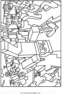 Minecraft Creeper 2 Gratis Malvorlage In Beliebt13