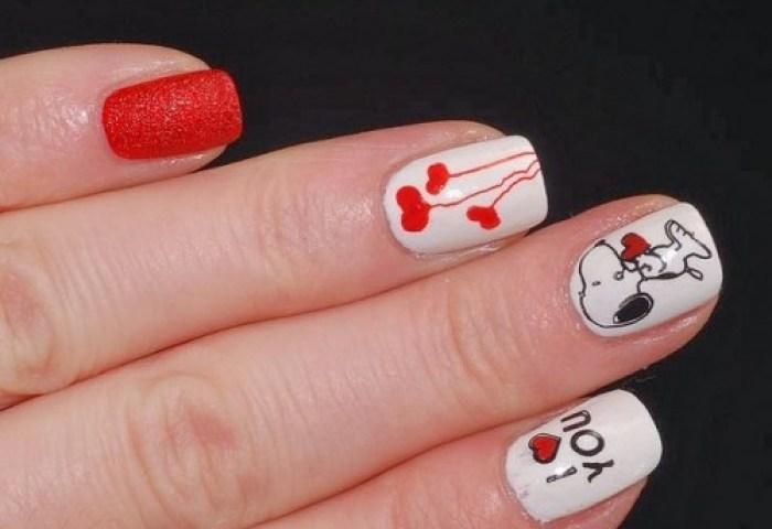 Imágenes Con Diseños Y Decoraciones De Uñas Para El Día De San Valentin