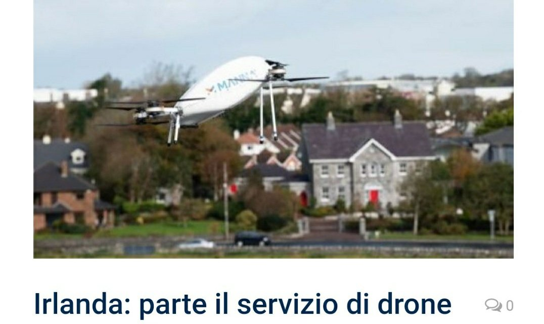 Irlanda – Uas e just Eat delivery