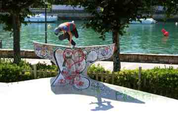 Skaters sudamericanos en Bilbao, las 10 mejores fotos