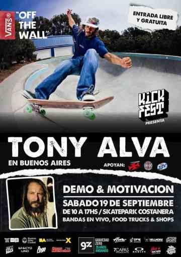 Tony Alva en buenos aires argentina 2015