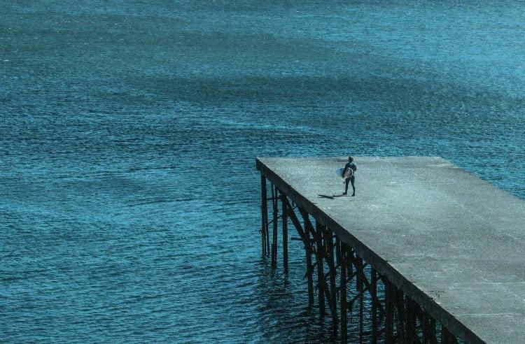 Marcelo Rodríguez de cara al mar