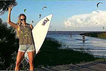 Volamos alto con la kitesurfista Paula Hastrup