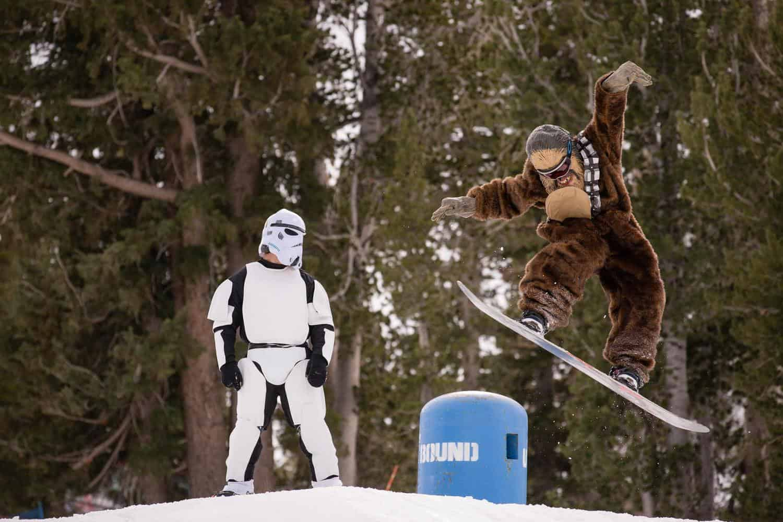 Star Wars también llegó a Mammoth Mountain