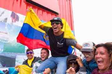 Jonathan Chila es el nuevo campeón latinoamericano de surf 2015