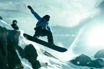 Los mejores snowboarders son dobles de riesgo en la nueva Point Break