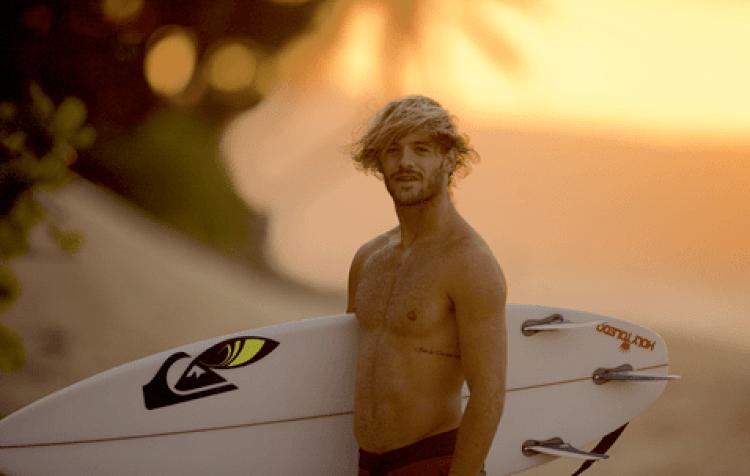 El surfista estrella de Quiksilver recuperó su mejor nivel. Es el mejor latino del ránking QS.