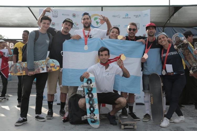 seleccion argentina skate panamericanos 2018
