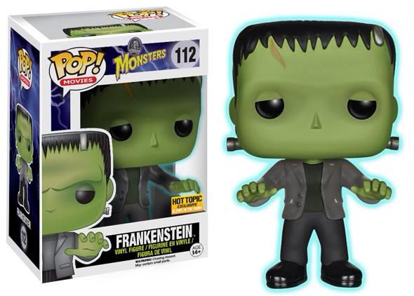 Funko Pop! Movies #112 Universal Monsters Frankenstein [Glow-in-the-Dark]
