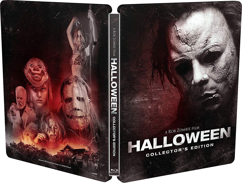 rob zombie announces new 'halloween' 2007 steelbook blu-ray   grave