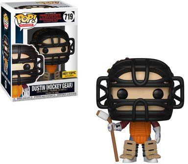 Funko Pop! Television #719 Stranger Things Dustin (Hockey Gear)