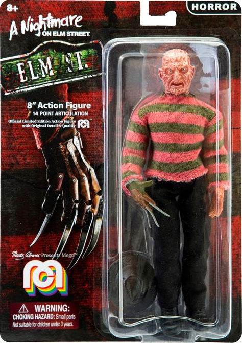 Mego Lists Freddy Krueger, Nosferatu & Universal Monsters Figures
