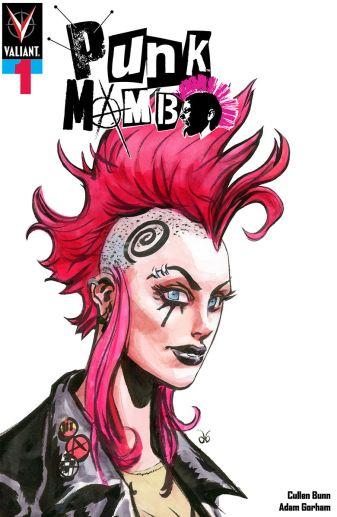 Punk Variant Cover by Dan Brereton