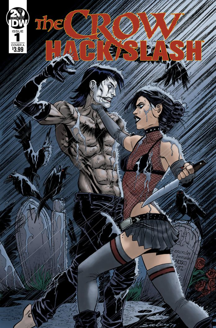 IDW Publishing The Crow: Hack/Slash Issue #1 Cover A by Tim Seeley