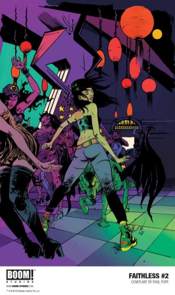 Main Cover by Paul Pope