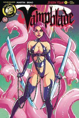 Variant Cover by Steve Desario