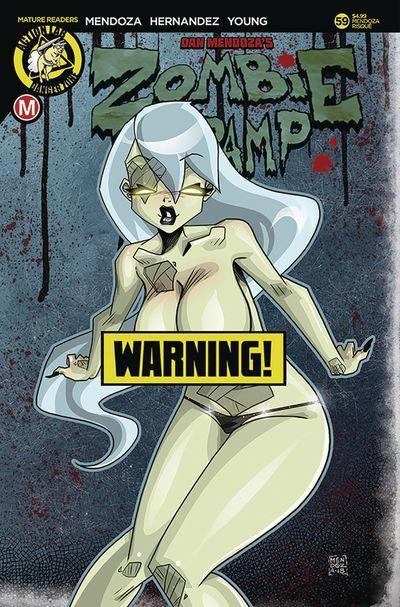 Variant Cover by Dan Mendoza (Erotic)