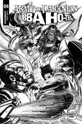 Cover B by Tom Mandrake (Black & White)