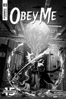 Cover by Ben Herrera (Black & White)