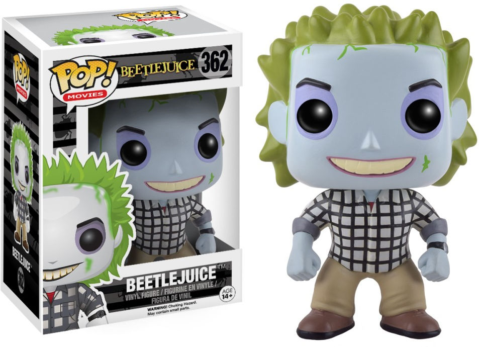 Funko Pop! Movies #362 Beetlejuice [in Adam's Clothes]