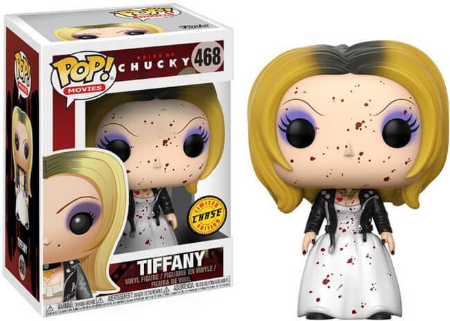 Funko Pop! Movies #468 Bride of Chucky Tiffany [Bloody]