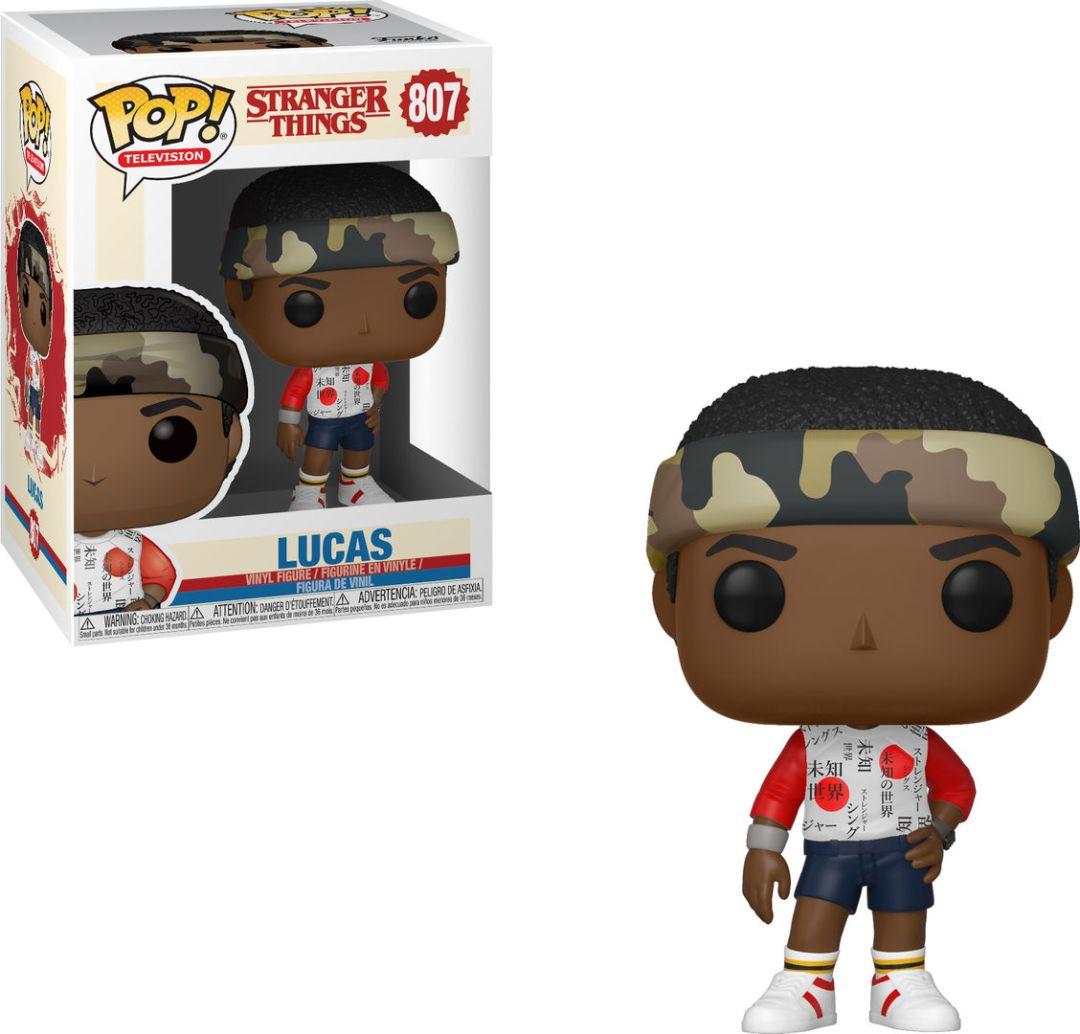 Funko Pop! Television #807 Stranger Things Lucas